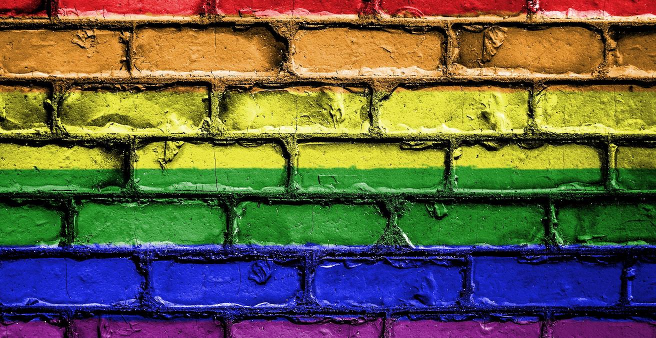 Rainbow painted bricks. Source: Pixabay http://bit.ly/2WbZHbv