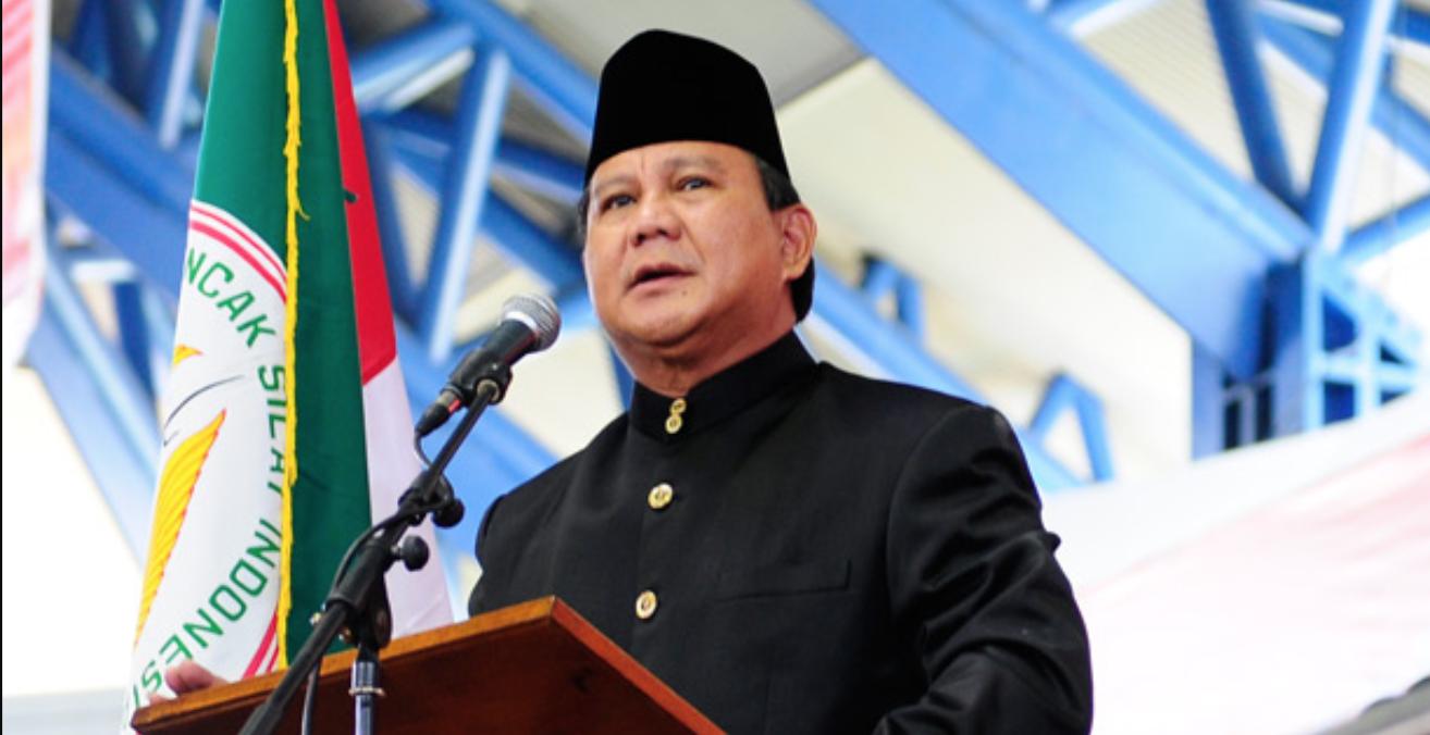 Prabowo Subianto. Source: Wikimedia Commons http://bit.ly/2MuWS0L