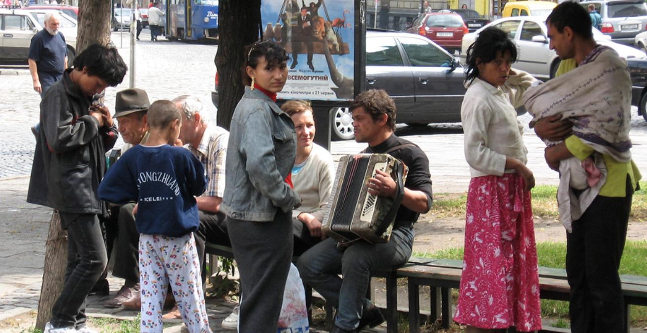 Romani People in Ukraine. Source: Wikimedia Commons http://bit.ly/2KmmURH