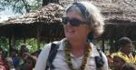Sara David in Papua New Guinea. Source: Living Child website