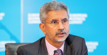 Subrahmanyam Jaishankar at the European Business Summit, May 2019. Source: Flickr http://bit.ly/2Mvmw5l