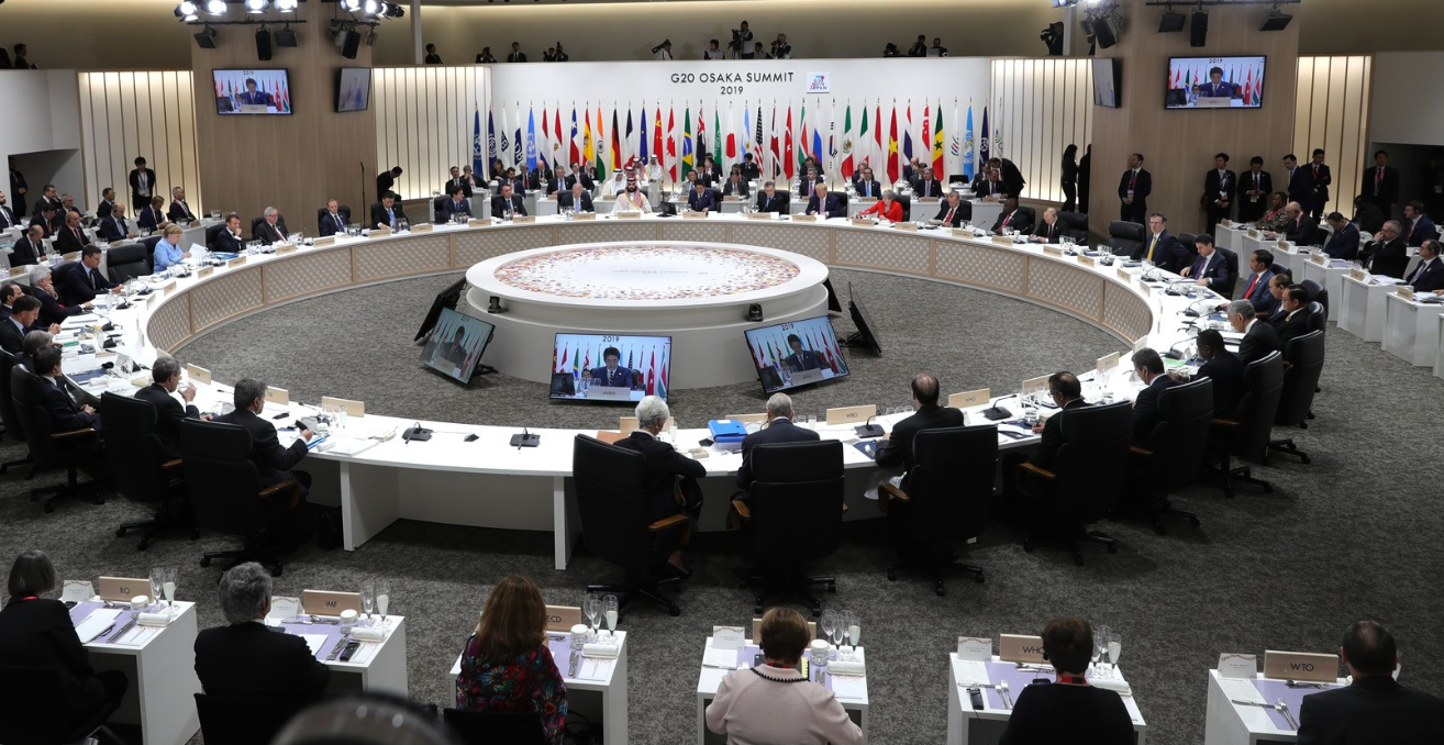 First working meeting of the heads of delegations from the G20, invited guest countries and international organisations. Source: Flickr - Kremlin.