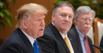 U.S. Secretary of State Michael R. Pompeo with President Donald J. Trump  in 2019 Source: Wikimedia Commons, http://bit.ly/2LCj475