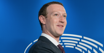 Facebook founder Mark Zuckerberg at the European Parliament in 2018. Source: Flickr, European Parliament http://bit.ly/2HVunos