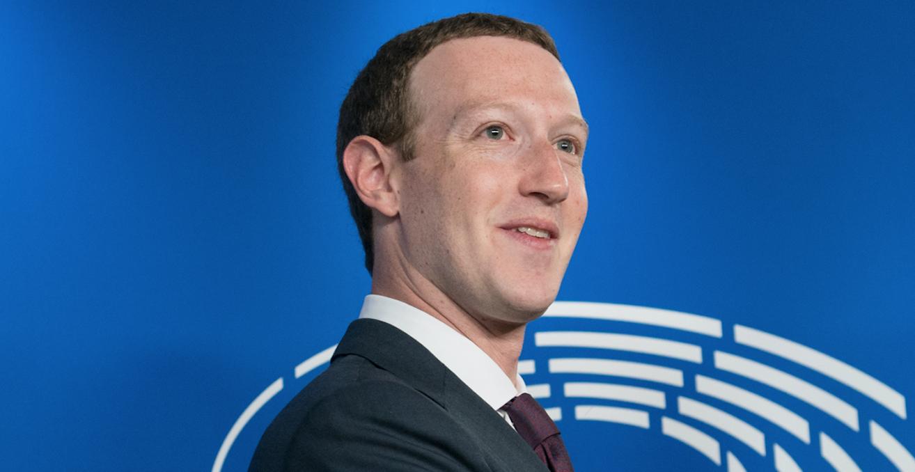 Facebook founder Mark Zuckerberg at the European Parliament in 2018. Source: Flickr, European Parliament http://bit.ly/2HVunos