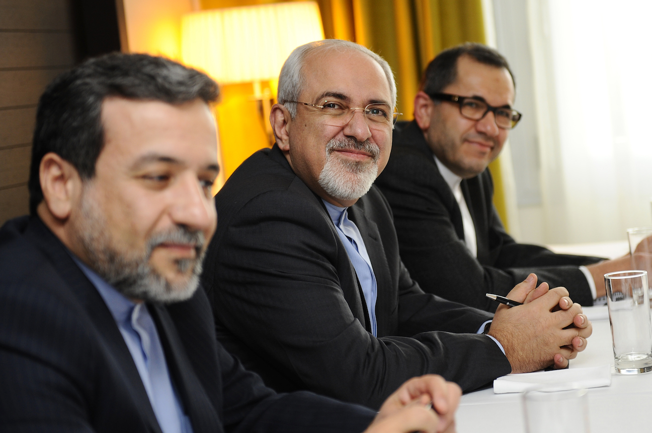 Iranian Foreign Minister, Mohammad Javad Zarif at the E3/EU+3. Source: EU External Action Service, Flickr, https://bit.ly/2ZqhZHj