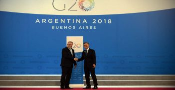 Scott Morrison in Argentina for the G20, Source: G20 Argentina, Flickr, https://bit.ly/2YZEuSA
