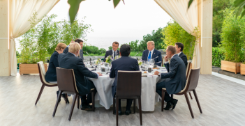 The G7 leaders meet in Biarritz. Flickr: White House