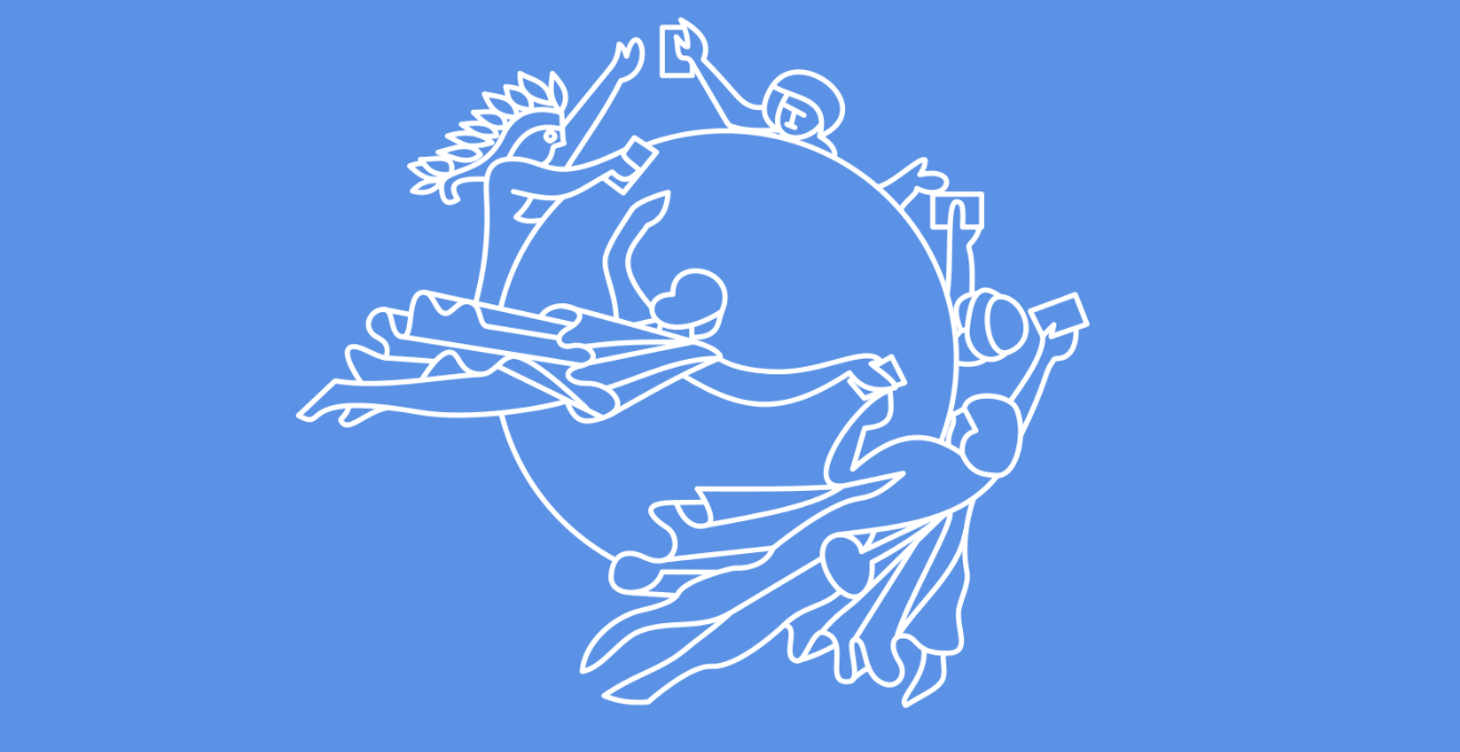 The flag of the Universal Postal Union. Wikimedia Commons