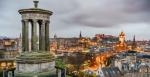 View of Edinburgh from Calton Hill, Scotland, United Kingdom - cityscape photography, Flickr: Giuseppe Milo