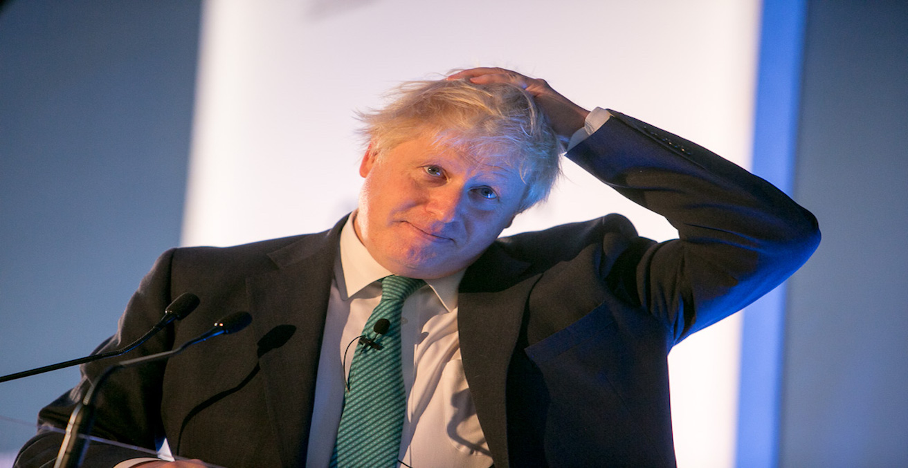 Boris at the Chatham House London Conference, Source: Chatham House, Flickr, https://bit.ly/2kbJVLV