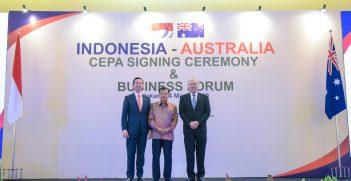 IA CEPA Signing Ceremony, Source: Australian Embassy Jakarta, Flickr, https://bit.ly/32k45DJ