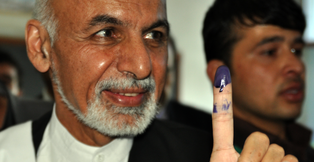 President Ashraf Ghani is to proceed with elections later this month. Public Domain image.