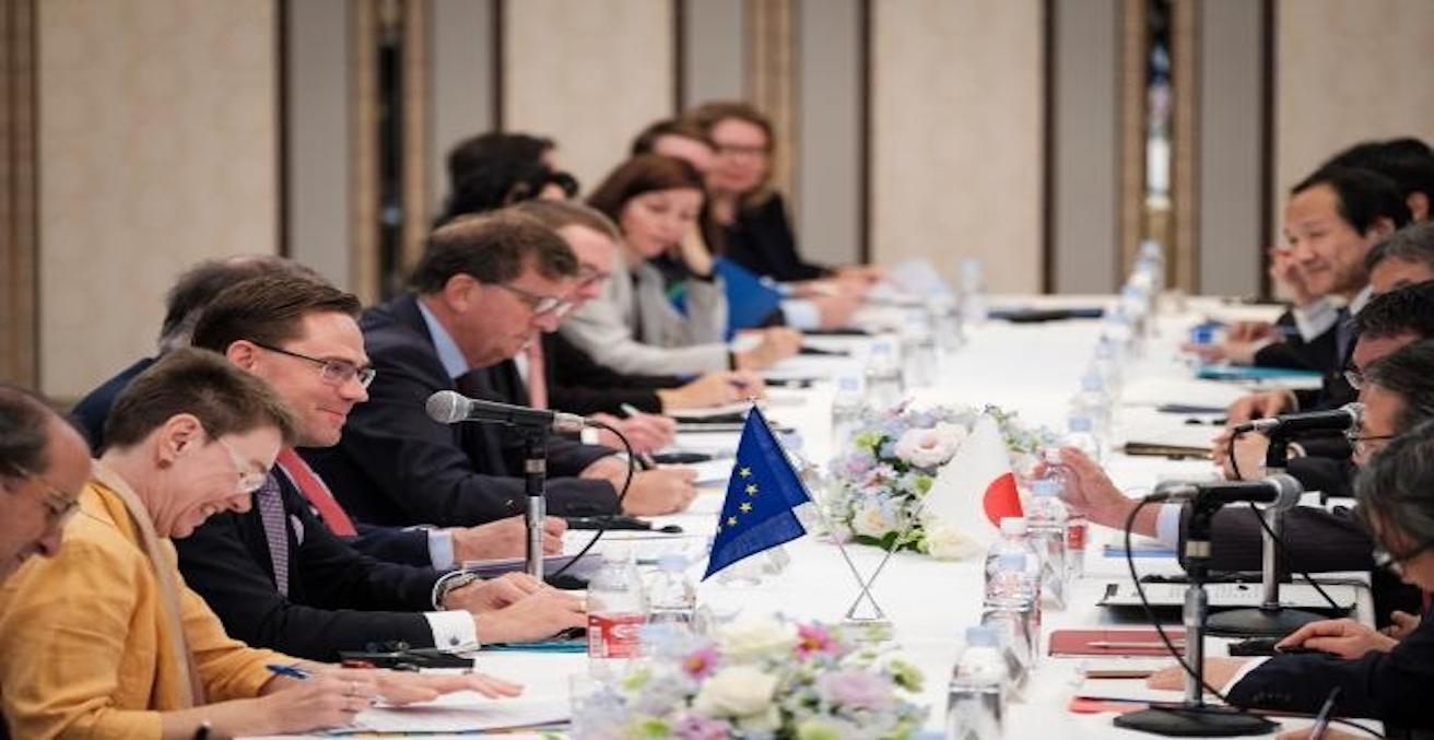 EU-Japan relations, Source: European Commission, https://bit.ly/2o6co7d