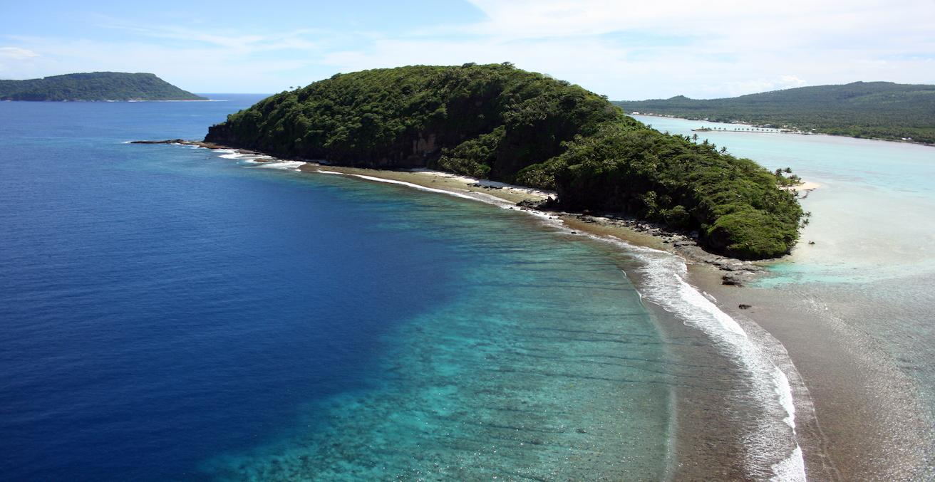 Namu'a Island is an Island getaway on the Eastern End of Upolu Island, Source: WHL travel, Flickr, https://bit.ly/2o2mcQ9