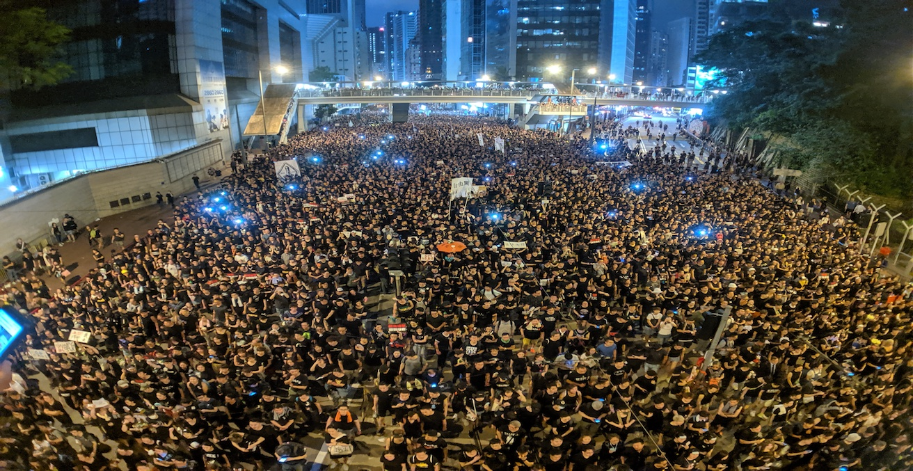 Hong Kong anti-extradition bill protest, Source: Studio Incendo, Flickr, https://bit.ly/2LX1BG8