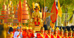 The coronation of King Rama X. Source: Wikimedia Commons.