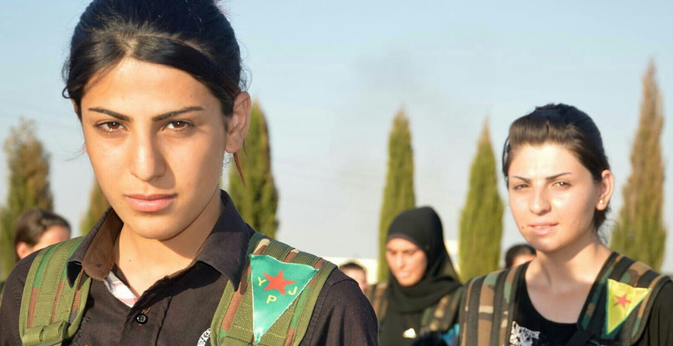 Kurdish YPJ fighters. Source: Flickr