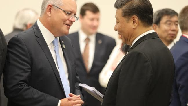 Morrison and Xi at G20 summit, Source: Adam Taylor / PMO