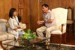 Leni Robredo Pays Courtesy Call To Rodrigo Duterte. Photo by King Rodriguez, Malacañang Photo Bureau. Source: https://bit.ly/2OuRYyl