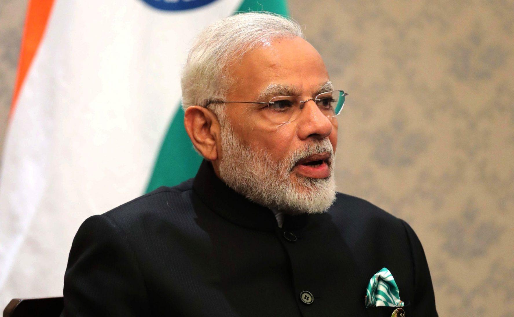 Indian PM Modi at the BRICS Summit. Photo by the Kremlin.