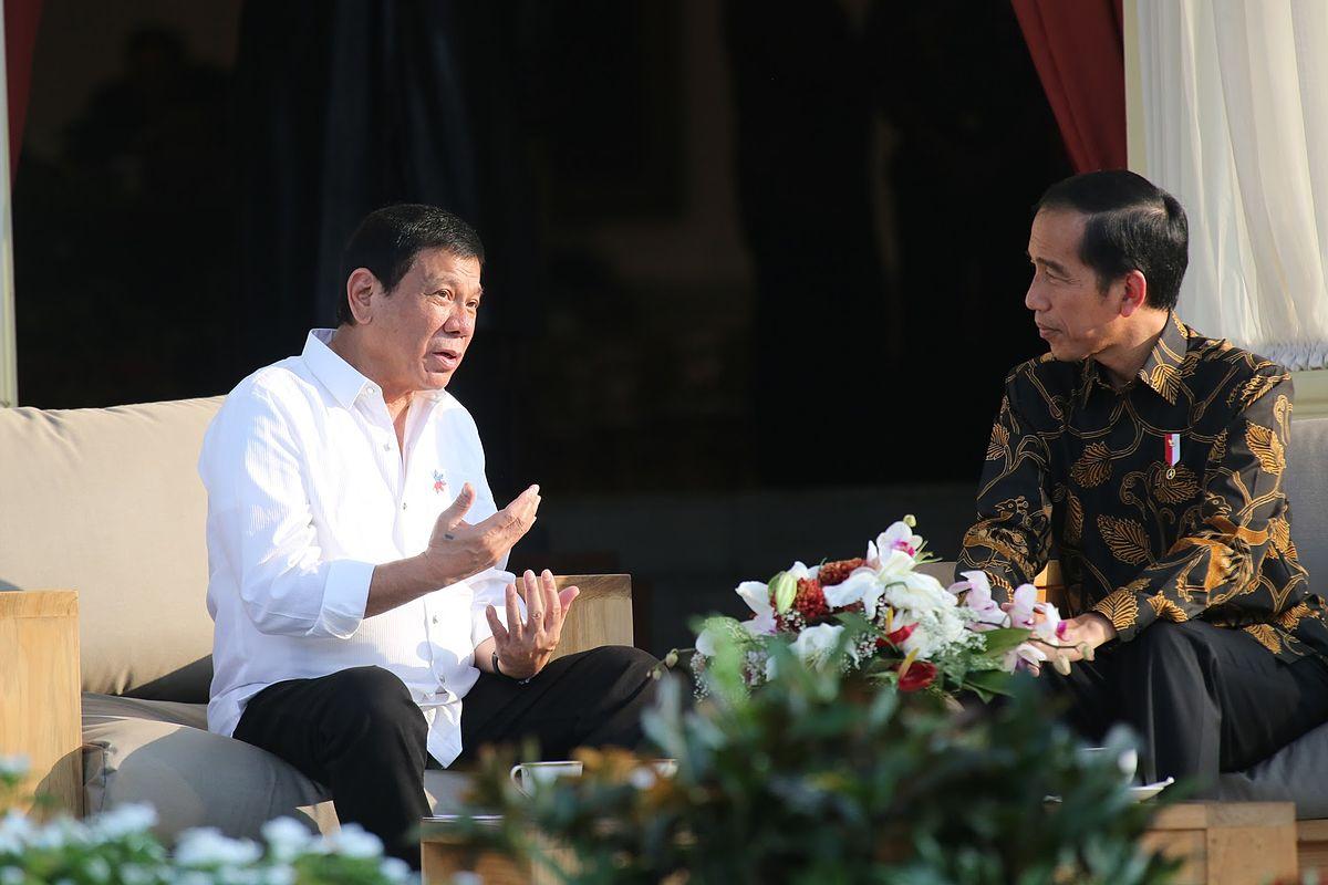 President Rodrigo Duterte Meets With Indonesian President Joko Widodo At Istana Merdeka In Jakarta On September 9. Photo by King Rodriguez, Wikimedia.