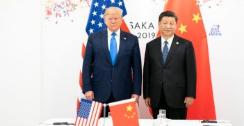 President Trump and Xi Jinping. Photo by Shealah Craighead, the White House. Source: https://bit.ly/2XFtGpL