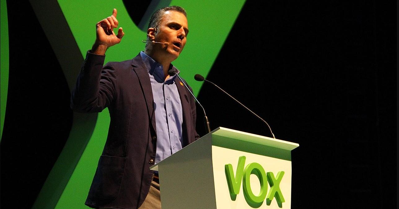Acto de Vox en Vistalegre. Photo by Contando Estrelas, Acto de Vox en Vistalegre. Photo source: https://bit.ly/34t3bGG