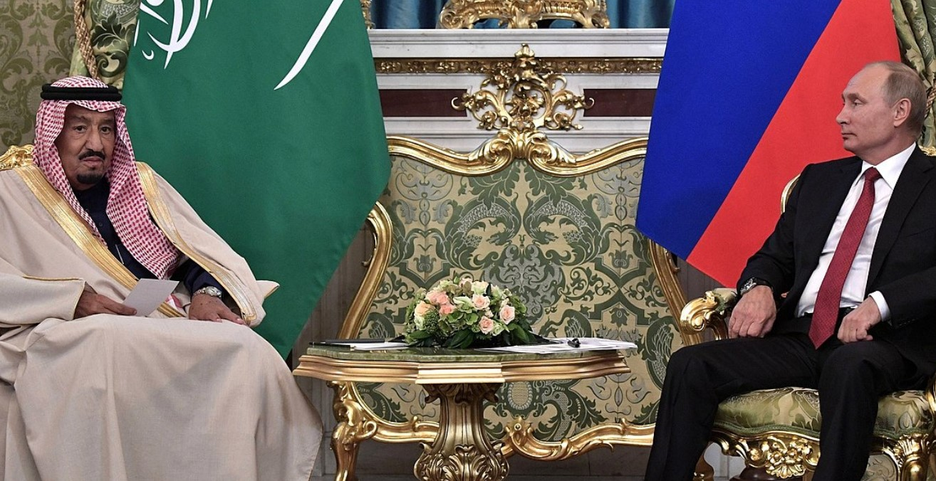 Putin and King Salman, 2017. Photo by the Kremlin. Source: https://bit.ly/33K3ag2