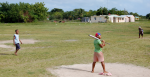 Young boys play baseball on Saona Island in the Dominican Republic.  Source:  Ian Bruce https://bit.ly/3ab1OhY