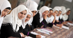 Students in a biology class at Sorya High School in West Kabul. The institution benefits from the Education Quality Improvement Program (EQIP). EQIP is a program designed to increase equitable access to quality basic education, especially for girls, through school grants teacher training and strengthened institutional capacity with support from communities and private providers. Program interventions are primarily targeted toward general education, teacher training and curriculum development. The program is being implemented by the Afghan Ministry of Education. Source: Graham Crouch/World Bank https://bit.ly/33dkWtD