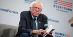 U.S. Senator Bernie Sanders speaking with attendees at the Presidential Gun Sense Forum hosted by Everytown for Gun Safety and Moms Demand Action at the Iowa Events Center in Des Moines, Iowa. Source: Gage Skidmore https://bit.ly/2VBGVIM