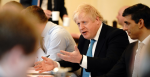 Prime Minister Boris Johnson chairs a meeting inside the Cabinet room at No10 Downing Street, to agree the UK's negotiating mandate with the EU. Source: Andrew Parsons / No10 Downing Street https://bit.ly/3atN91x