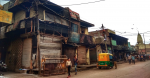 Burnt shops at Shiv Vihar following the riots in Delhi. Source: Banswalhemant https://bit.ly/2w8taHw