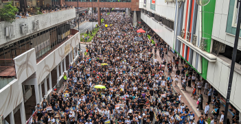 Hong Kong Shatin anti-extradition bill protest. Source: Studio Incendo https://bit.ly/2PQeG5s