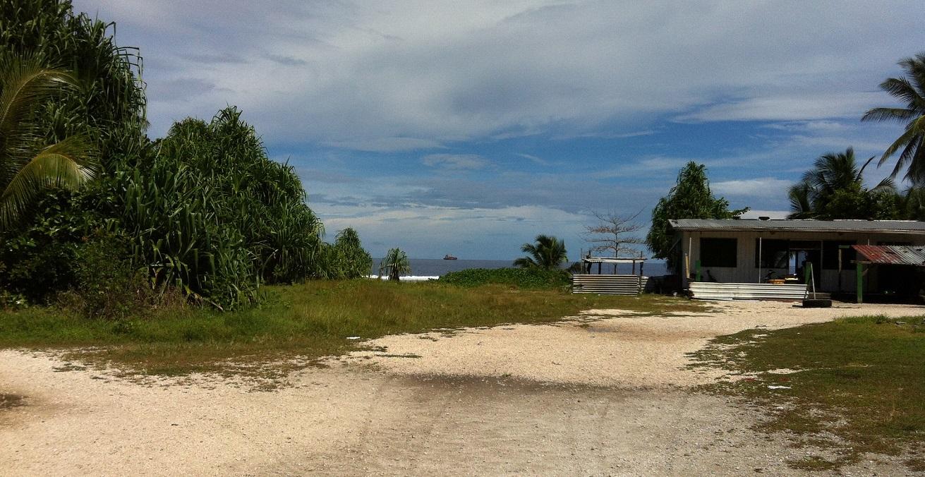 View of the ocean in Nauru. Source: Sean Kelleher https://bit.ly/3aCucdK