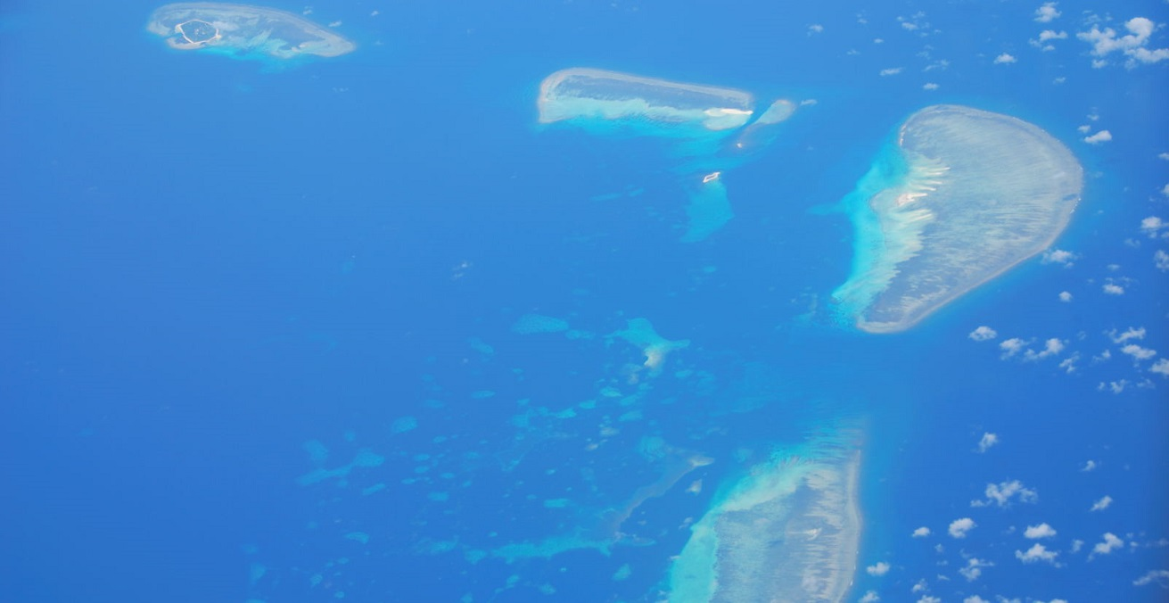 The Paracel Islands in the South China Sea. Source: Nicolas Lannuzel https://bit.ly/3a9ZBTI
