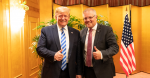 President Donald J. Trump poses for a photo with Australian Prime Minister Scott Morrison following their dinner at the Imperial Hotel Osaka Thursday, June 27, 2019, Osaka, Japan. Source: Official White House Photo by Shealah Craighead https://bit.ly/3b2S5v9