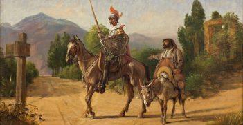 Wilhelm Marstrand's painting,