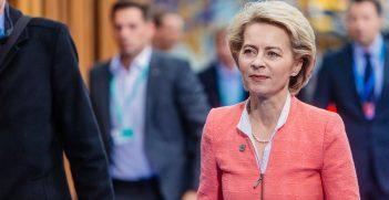 European Commission President Ursula Von der Leyen.  Source: Arno Mikkor https://bit.ly/37YiqtH