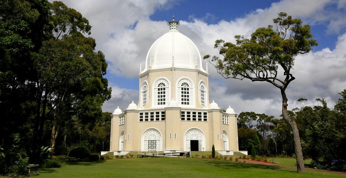 Baha'i Temple in Ingleside, Sydney, New South Wales, Australia. Source: Alex Proimos https://bit.ly/3dDSXqM
