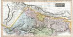 A hand colored 1814 map by Edinburgh cartographer John Thomson depicts northern India and Nepal. Source: Geographicus Rare Antique Maps https://bit.ly/3gD9fSE