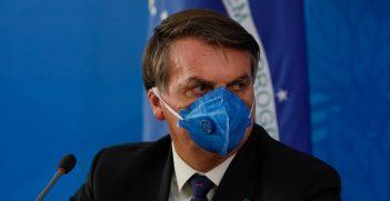 Press conference of the President of the Republic, Jair Bolsonaro and Minister of Health, Luiz Henrique Mandetta. Source: Isac Nóbrega https://bit.ly/335v8WT