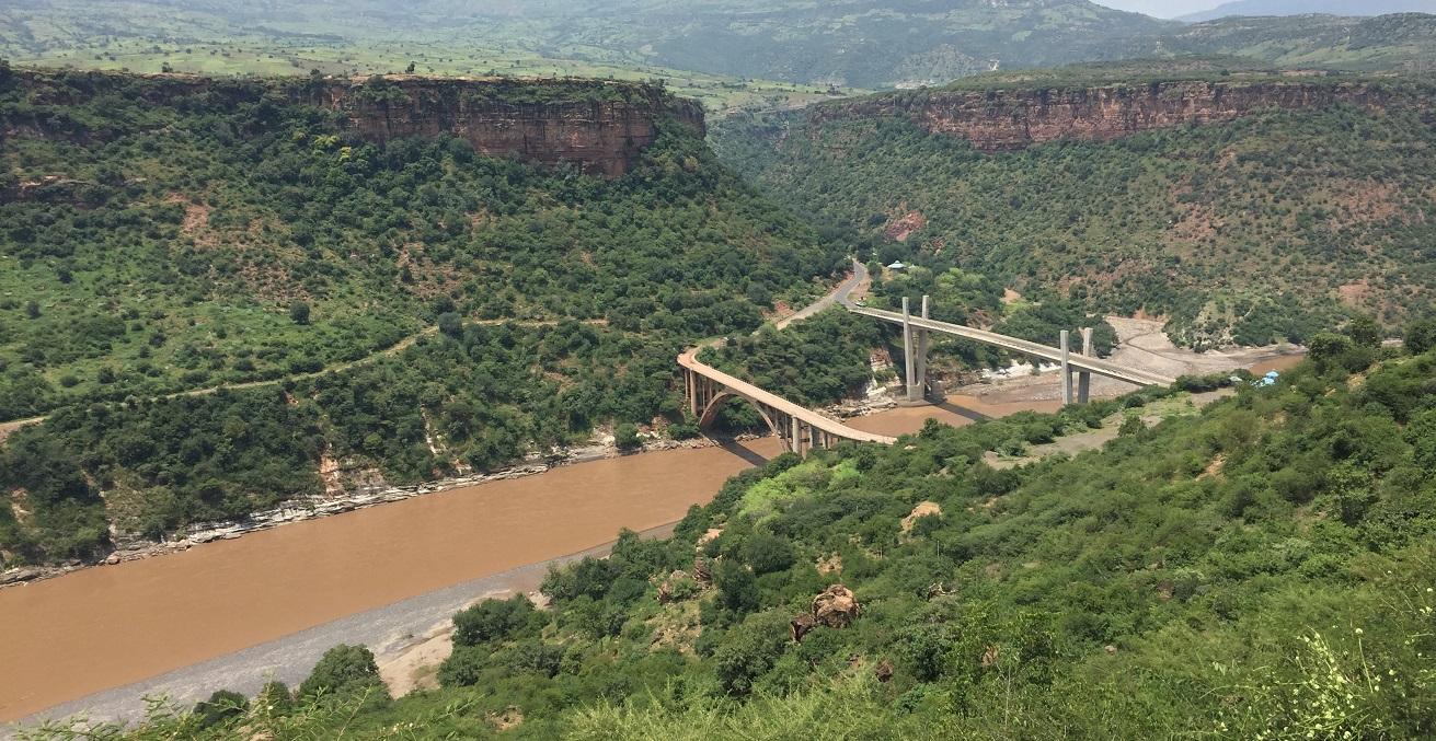 Blue Nile gorge in Ethiopia. Source: Rosemania, https://bit.ly/2EtSjjW