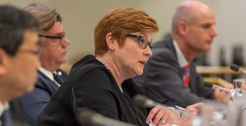 Minister for Foreign Affairs Marise Payne at the ninth Ministerial Meeting of the Friends of the CTBT. Source: The Official CBTBO https://bit.ly/3cHAIBE