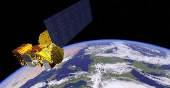 Aqua Satellite Orbiting Earth Artist Concept. Source: NASA https://go.nasa.gov/3hZlny7