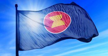 ASEAN flag. Source: Shutterstock.