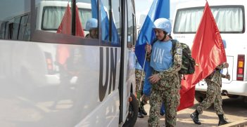 Vietnamese medical personnel arrive in South Sudan. Source: Isaac Billy https://bit.ly/31vt2hC