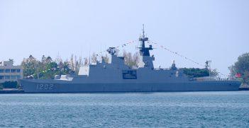 ROCN Kang Ding (PFG-1202) Shipped at Zuoying Naval Base Source: https://bit.ly/3npKBco