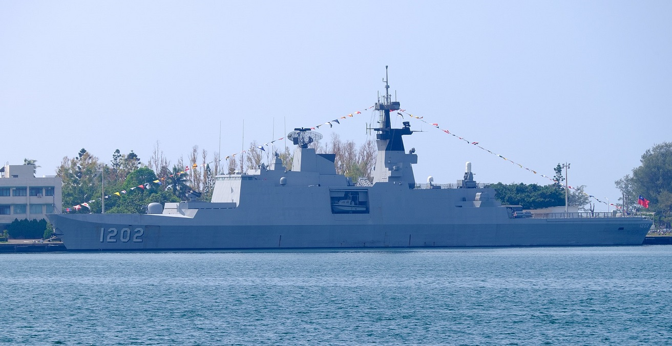 ROCN Kang Ding (PFG-1202) Shipped at Zuoying Naval Base Source: https://bit.ly/3npKBco